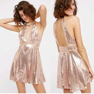 Free to Film Nor Sequin Dress